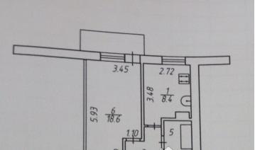 Продается 1-комнатная квартира 36.1 кв.м. на ул. Валентины Никитиной - Фото 3