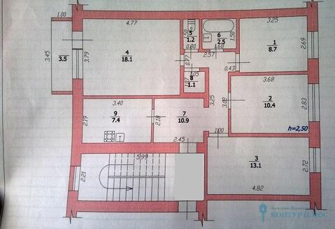 Четырехкомнатная квартира в центре Крымска - Фото 2