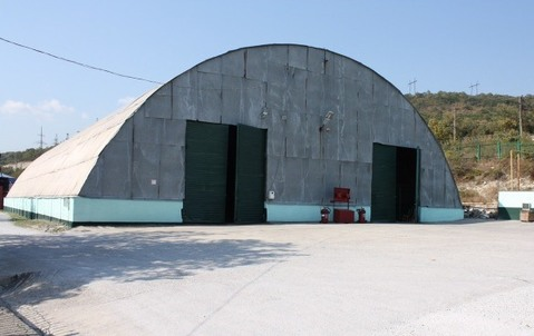 Утеплённый склад-ангар 1070кв.м.в Кирилловской промзоне. - Фото 1