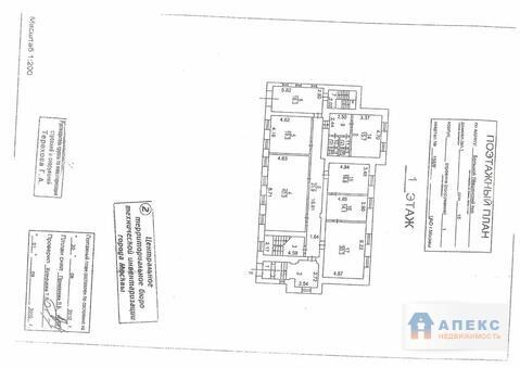 Аренда офиса 448 м2 м. Смоленская апл в особняке в Арбат - Фото 2