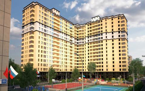 Двухкомнатная Квартира Область, улица Красноармейская, д.57, . - Фото 3