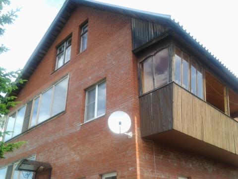 Кирпичный дом 340 кв.м. на берегу р. Руза, Рузский район 100 км. МКАД - Фото 2