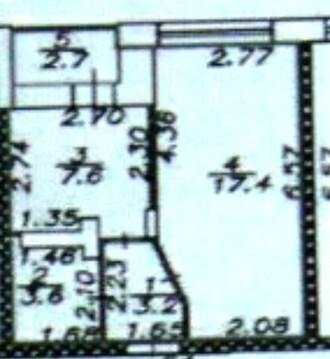 Однокомнатная квартира 35 кв. м. в новом доме - Фото 2