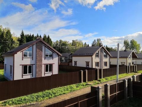 Продаётся новый дом 160 кв.м с участком 9.47 соток-35 км от МКАД - Фото 1