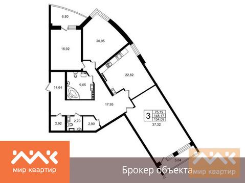 Продается 3к.кв, Свердловская - Фото 1