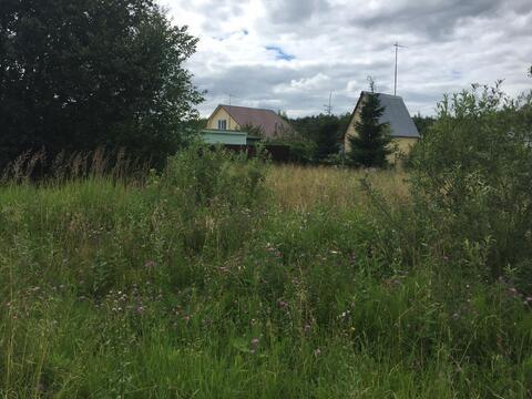 8 соток в жилой деревне Пешково Чеховского района - Фото 2