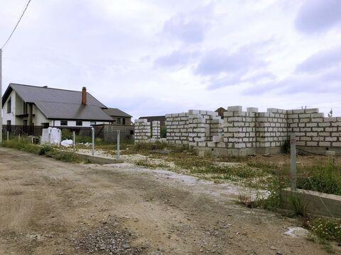 Земельный участок в д. Узигонты 10.55 соток ИЖС с фундаментом, . - Фото 2