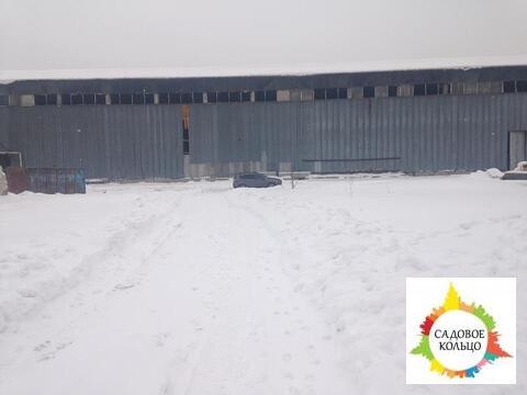 Под склад/произ-во, холодный, выс. потолка 15 м, пол бетон, огорож. о - Фото 2