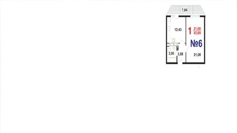 Купить однокомнатную квартиру в Южном районе Новороссийска, монолит. - Фото 2