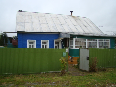 Дом-53,6кв.м, ПМЖ, п. Малино, Ступинский р-он. - Фото 1