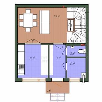 Таун-хаус 63 кв.м по доступной цене - Фото 2