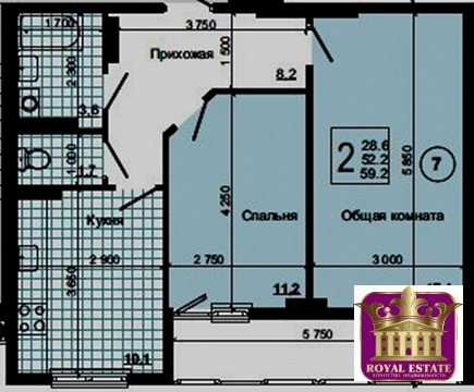Продается квартира Респ Крым, г Симферополь, пгт Грэсовский, ул . - Фото 4
