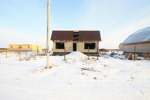 Недостроенный дом 86 м2 - Фото 1