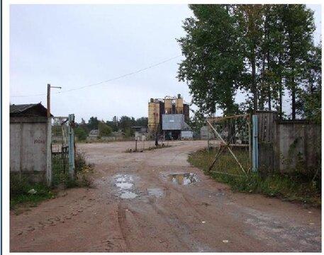Приозводственная база в пос.Ермилово Выборгский район