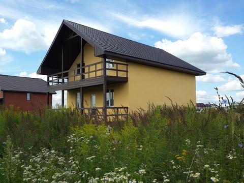 Продается новый блочный дом 174м2 на участке 10,4сот, село Малышево - Фото 4