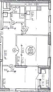 Двухкомнатная квартира в новом сданном доме (Зеленая роща) - Фото 2
