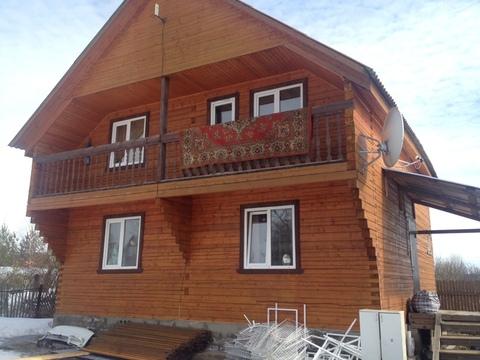 Дом 160 кв.м на участке10 соток д.Соколово, Продажа домов и коттеджей в Струнино, ID объекта - 502555348 - Фото 1