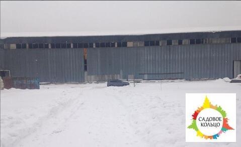 Под склад/произ-во, холодный, выс. потолка 15 м, пол бетон, огорож. о - Фото 1