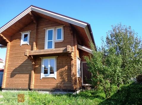 Дом 124 м2 на участке 8 соток, село Лучинское, д. Петушки - Фото 1