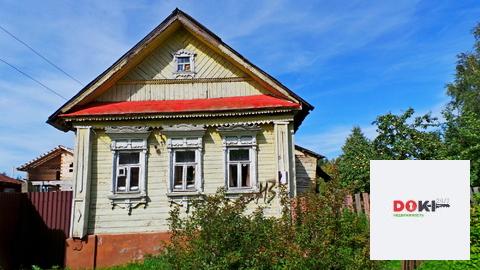Продается небольшой дом 40 кв.м, построенный из бревна, который обяз - Фото 2