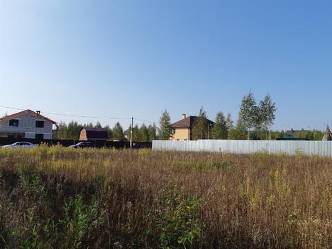 Большое Петровское д, участок 15 соток, знп для ИЖС, свет подведен. - Фото 4