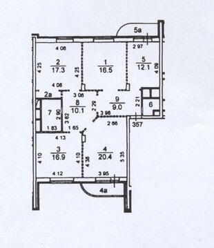 Продается 4-комнатная квартира:Москва, Новокуркинское шоссе 51 - Фото 2