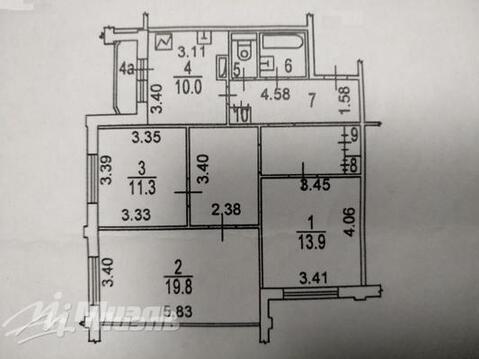 Квартира с большой площадью! - Фото 3