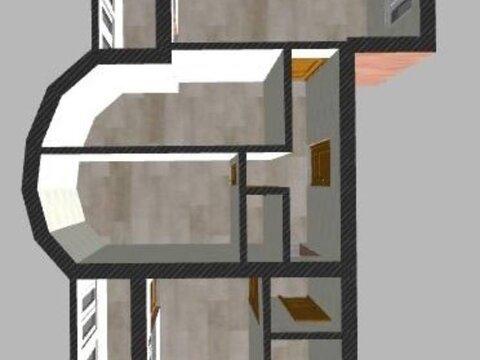 Продажа трехкомнатной квартиры на улице Георгия Димитрова, 24 в Калуге, Купить квартиру в Калуге по недорогой цене, ID объекта - 319812404 - Фото 1
