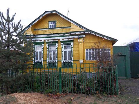 Ухоженный крепкий бревенчатый дом в г. Кохма Ивановской области. - Фото 1