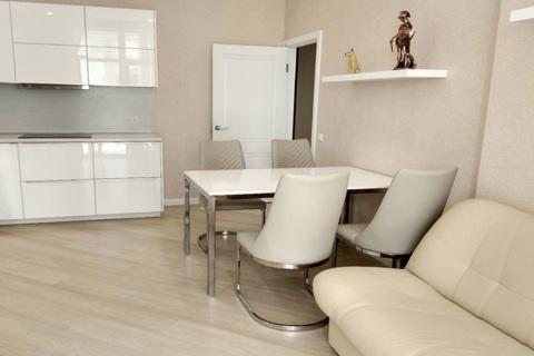 2 комнатная квартира в ЖК Адмирал с евроремонтом и мебелью - Фото 5
