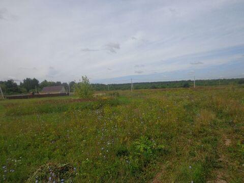 Земельный участок ЛПХ 13 соток в д. Иваньково Т.О. - Фото 1