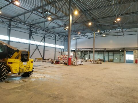 Новый складской комплекс 2475 кв.м,5 ворот доквелеров - Фото 1