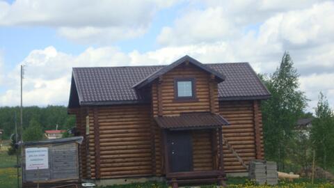 140м2 2хэтажный дом из оциллиндрованного бревна СНТ Трубицино, пруд. - Фото 3