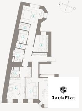 """ЖК """"Полянка/44"""" - 142 кв.м, 4 спальни и кухня-гостиная. акция! - Фото 4"""