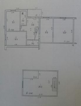 Дом 2этажн, 86,4 м, уд-ва, гараж, баня, 6сот. рц. Беляевка - Фото 2