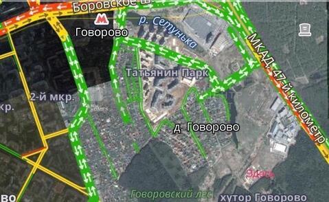 Участок 6 сот. , Боровское ш, 1 км. от МКАД. - Фото 1