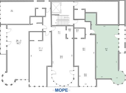 3-комн. кв. 96 м2, этаж 5/5 видовая квартира в Ялте - Фото 2
