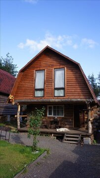 Двухэтажный домик с русской баней в пос. Токсово - Фото 1