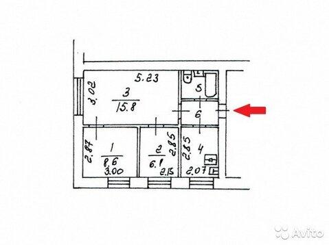 3-к квартира, 42.2 м, 4/5 эт. - Фото 2