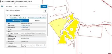 31,5 га кфх в Переславле-Залесском, вблизи д. Потанино - Фото 4