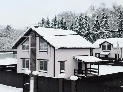 Продаётся новый дом 155 кв.м с участком 8 соток - 35 км от МКАД - Фото 1