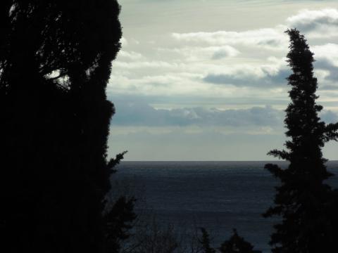 Эксклюзивные ровные 10сот. 100м от моря, вид, зелень, подъезд. - Фото 2