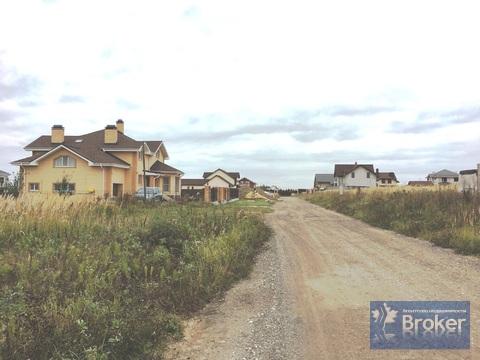 Участок 15 сот в коттеджном посёлке ивушкино - Фото 1