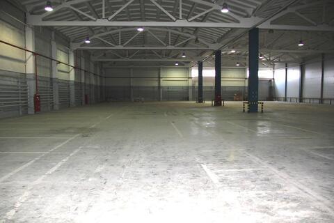 Сдам теплое складское помещение 2500 м2 класса В+ - Фото 1