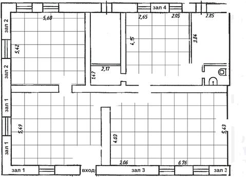 Торговое помещение (полуподвал) по адресу г. Обнинск, ул. Красных Зорь