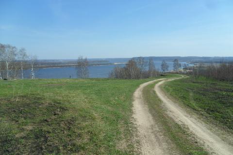 Земельный участок с видом на Волгу 25 км. от Н.Новгорода - Фото 5