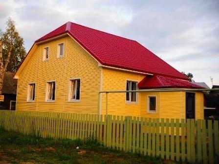 Новый коттедж, г. Гатчина, Егерская слобода - Фото 1
