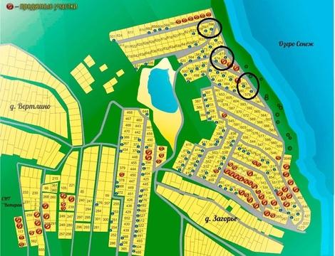 1-я линия от Озера Сенеж, участок в Солнечногорске мкр.Загорье-3 - Фото 5