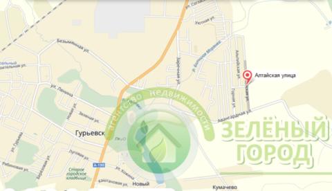 Продажа участка, Гурьевск, Гурьевский район, Алтайская - Фото 1
