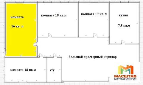 Аренда комнаты рядом с метро Нарвская - Фото 3